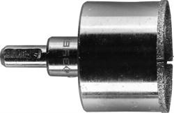 """Алмазная коронка ЗУБР """"Эксперт"""" с центрирующим сверлом, 45мм 29850-45 - фото 89002"""