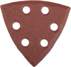 """Шлифовальный треугольник Stayerr """"MASTER""""  перфорированный, P80, 93мм 5шт 35460-080 - фото 90014"""