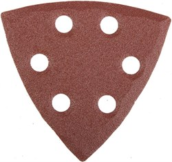 """Шлифовальный треугольник Stayerr """"MASTER""""  перфорированный, P100, 93мм 5шт 35460-100 - фото 90015"""