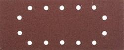 """Шлифовальный лист Stayer """"MASTER"""" 14 отверстий, P40, 5шт 115x280 35469-040 - фото 90026"""