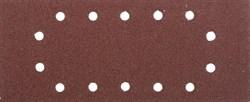 """Шлифовальный лист Stayer """"MASTER"""" 14 отверстий, P60, 5шт 115x280 35469-060 - фото 90027"""