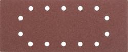 """Шлифовальный лист Stayer """"MASTER"""" 14 отверстий, P80, 5шт 115x280 35469-080 - фото 90028"""