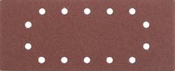 """Шлифовальный лист Stayer """"MASTER"""" 14 отверстий, P120, 5шт 115x280 35469-120 - фото 90030"""