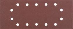"""Шлифовальный лист Stayer """"MASTER"""" 14 отверстий, P180, 5шт 115x280 35469-180 - фото 90031"""