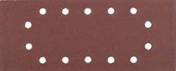 """Шлифовальный лист Stayer """"MASTER"""" 14 отверстий, P320, 5шт 115x280 35469-320 - фото 90032"""