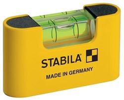 Магнитный уровень Stabila Pocket Magnetic 17774 - фото 9010