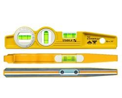 Магнитный уровень Stabila 81SV REM W360 Torpedo 25 см 16670 - фото 9018