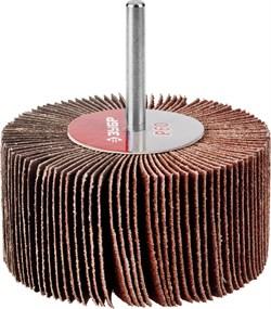 """Шлифовальный круг ЗУБР """"Мастер""""лепестковый, веерный, P60, 40х80мм 36604-060 - фото 90572"""