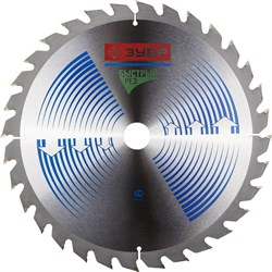 """Пильный диск ЗУБР """"Эксперт-быстрый"""" 300х32, 32Т 36901-300-32-32 - фото 90695"""