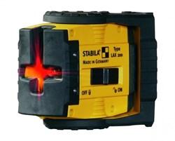 Лазерный уровень Stabila LAX 200 Komplet Set + REC 210 17283 - фото 9506