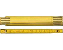 Деревянный складной метр Stabila 907 2 м 01604 - фото 9569