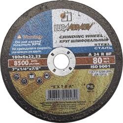 Шлифовальный круг ЗУБР абразивный, торцевой, 230мм 36204-230-6.0_z01 - фото 95738