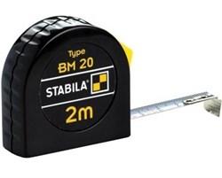 Рулетка Stabila BM 20 2м х 13мм 16444 - фото 9587