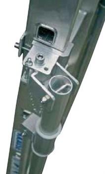 Стабилизационные опоры для лестниц Krause 12-14 ступеней, поворотная 2шт 832016 - фото 96437