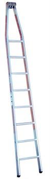 Верхняя секция лестницы для чистки стекол Krause 8 ступеней 802514 - фото 96694