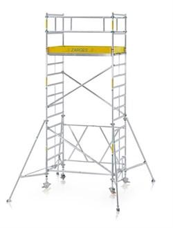 Алюминиевая вышка-тура Zarges Z600 модульная 12,8м 53208 - фото 98828