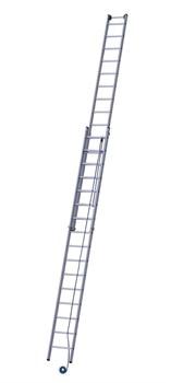 Двухсекционная лестница с тросовой тягой 2х14 Z600 Zarges 40206 - фото 98935
