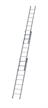 Трехсекционная раздвижная лестница Zarges Z600 3х8 40127 - фото 98956