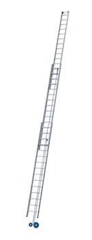 Трехсекционная лестница с тросовой тягой Zarges Z600 3х15 40446 - фото 98959