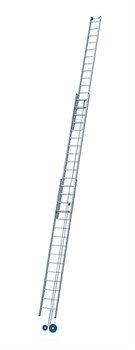 Трехсекционная лестница с тросовой тягой Zarges Z600 3х22 40449 - фото 98962
