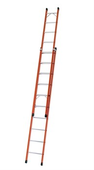 Диэлектрическая выдвижная лестница Zarges Z600 2х10 41163 - фото 98965