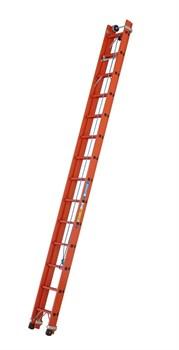 Диэлектрическая выдвижная лестница Zarges Z600 с тросом 2х16 41276 - фото 98969