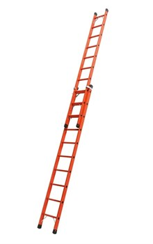 Диэлектрическая выдвижная лестница Zarges Z600 2х8 41288 - фото 98971