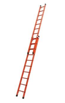 Диэлектрическая выдвижная лестница Zarges Z600 2х10 41290 - фото 98972