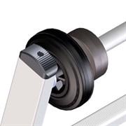 Мачтовый ходовой механизм Zarges для лестниц из алюминия 8505