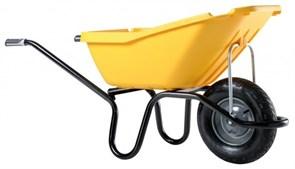 Тачка садовая одноколесная Haemmerlin Cargo Proselect Pick Up 110 желтая