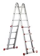 Телескопическая шарнирная лестница Svelt Scalissima Light 2х8 SCALISSIMAL8