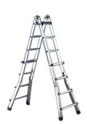 Телескопическая шарнирная лестница Svelt Scalissima 6х6
