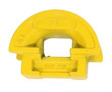 Гибочный сегмент Small Quick BEND SQB25 для толстостенных труб диаметром 25 мм Big R 44 мм