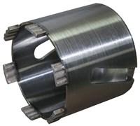 Коронка-подрозетник KERN LASER TURBO М для бетона и кирпича 82мм