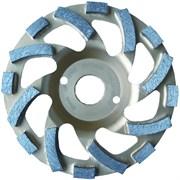 Шлифовальная чашка KERN TS PREMIUM-HART двухрядная для бетона и природного камня диаметром 125мм