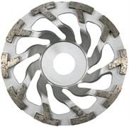 Шлифовальная чашка Турбо-сегмент KERN TS TURBO для бетона и природного камня диаметром 100мм с посадкой 18 мм