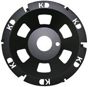 Шлифовальная чашка Сегмент PKD KERN TS LASER PKD для неармированного бетона и стяжки диаметром 180мм