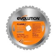 Многоцелевой пильный диск Evolution RAGE BLADE 255 MULTI