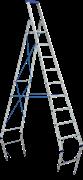 Алюминиевая стремянка Elkop 10 ступеней JHR610