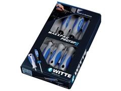 Комбинированный набор отверток Witte Maxxpro PZ/шлиц 6 шт 653833