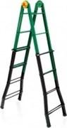 Телескопическая шарнирная лестница Elkop 4х3 MULTIB33