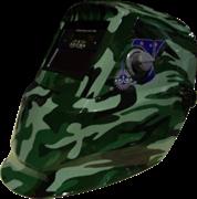Сварочная маска Brima Perfect Хамелеон (НА-1113а) хаки в коробке
