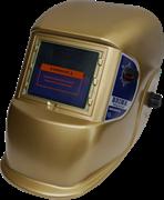 Сварочная маска Brima Best Optima (НВ-1492) золотая в коробке