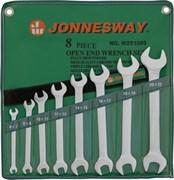 Набор рожковых ключей Jonnesway в сумке, 6-22 мм, 8 предметов W25108S