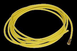 Тефлоновый направляющий канал Brima 1,2 1,6 желтый 3,5 м