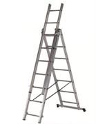 Алюминиевая трехсекционная лестница Centaure СК3 3х7 120307 (Россия)