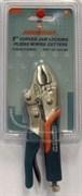 Зажимные клещи Jonnesway с прорезиненными ручками 125 мм P32M05C