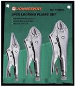 Набор зажимных клещей Jonnesway 3 предмета P32M03S