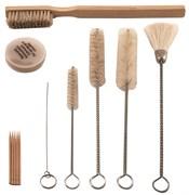 Комплект щеток для чистки краскопультов Jonnesway 12 предметов AS-0026