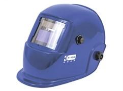 Сварочная маска Кедр К-102 (в разобр. виде) синяя